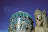 turquoise stock photography | Afghanistan, 15th century mosque at Balkh, image id 0-0-70