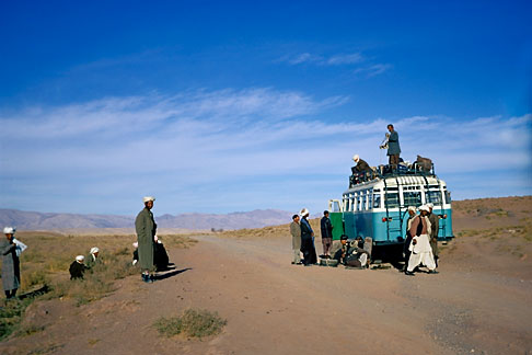 image 0-0-90 Afghanistan, On the bus from Herat to Mazar i sharif