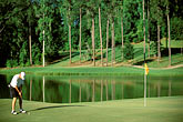water hazard stock photography | Alabama, RTJ Golf Trail, Greenville, Cambrian Ridge, 4th hole, Sherling, image id 2-555-31