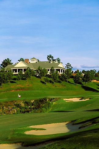 image 2-555-94 Alabama, Robert Trent Jones Golf Trail, Greenville, Cambrian Ridge, 9th hole, Sherling