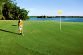 one man only stock photography | Alabama, RTJ Golf Trail, Prattville, Capitol Hill, 1st hole, Judge, image id 2-565-27