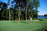 two people stock photography | Alabama, RTJ Golf Trail, Prattville, Capitol Hill, 18th hole, Judge, image id 2-565-53