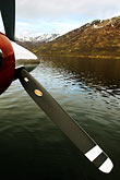 island stock photography | Alaska, Kodiak, Seaplane landed on lake, image id 5-650-1518