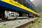 angle stock photography | Alaska, Anchorage, Alaska Railway, image id 5-650-270
