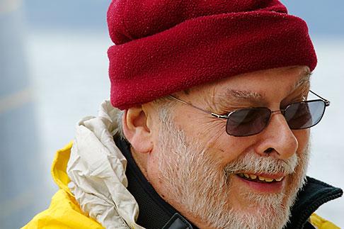 image 5-650-314 Alaska, Prince WIlliam Sound, Tour boat passenger