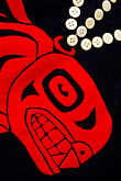 black stock photography | Alaskan Art, Tsimshian design, image id 5-650-3449