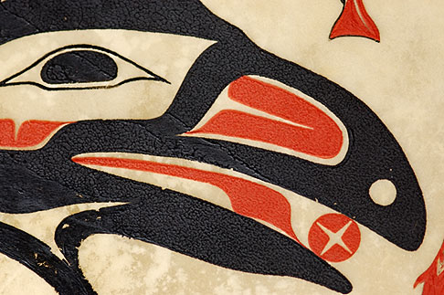 image 5-650-3563 Alaska, Anchorage, Tsimshian design