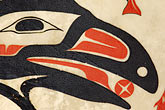 raven stock photography | Alaska, Anchorage, Tsimshian design, image id 5-650-3563