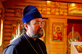 orthodox stock photography | Alaska, Kodiak, Russian Orthodox priest, image id 5-650-3752