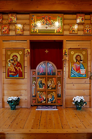 image 5-650-3763 Religious Art, Icons of Jesus and Mary