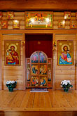 sacred family painting stock photography | Religious Art, Icons of Jesus and Mary, image id 5-650-3763