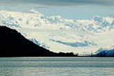 horizontal stock photography | Alaska, Prince WIlliam Sound, Mountains and glacier, image id 5-650-379