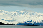 horizontal stock photography | Alaska, Prince WIlliam Sound, Mountains and glacier, image id 5-650-381