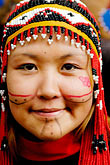 usa stock photography | Alaska, Kodiak, Alaskan Native dancer, image id 5-650-3971