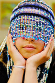 one teenage girl only stock photography | Alaska, Kodiak, Alaskan Native dancer, image id 5-650-3979