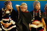 horizontal stock photography | Alaska, Kodiak, Alaskan Native dancers, image id 5-650-3996