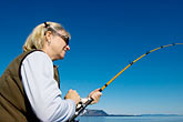 sport fishing stock photography | Alaska, Kodiak, Salmon fishing, image id 5-650-4133