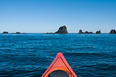 canoe stock photography | Alaska, Kodiak, Kayaking in Monashka Bay, image id 5-650-4206