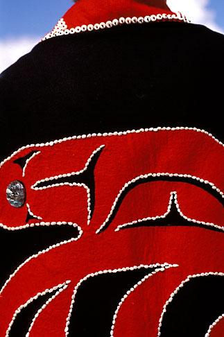 image 7-249-5 Alaska, Ketchikan, Tsimshian design, Metlakatla Island