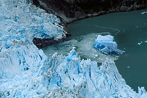 image 8-342-34 Alaska, Southeast, North Sawyer Glacier, Tracy Arm