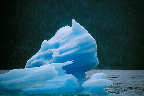 image 8-362-2 Alaska, Southeast, Iceberg, Endicott Arm
