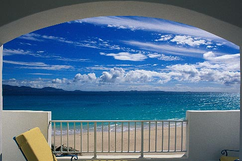 0-101-17  stock photo of Anguilla, View from balcony