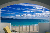 facade stock photography | Anguilla, View from balcony, image id 0-101-17
