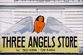 signage stock photography | Antigua, St. John�s, Three Angels Store, image id 4-600-1