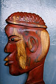 person of color stock photography | Antigua, English Harbor, Wood carving by Carl Henry, image id 4-600-24