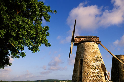 image 4-600-69 Antigua, Bettys Hope, Sugar mill
