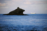 blue stock photography | Antigua, Hawksbill Rock, image id 4-602-26