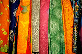 purchase stock photography | Textiles, Colored fabrics, Caribeean market, image id 4-602-95