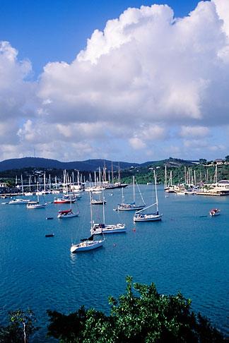image 4-603-51 Antigua, English Harbor, Boats in English Harbor