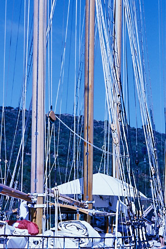 image 4-603-62 Antigua, English Harbor, Boats in English Harbor