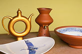 art display stock photography | Antigua, Cedars Pottery, Michael Hunt and Imogen Margrie , image id 4-604-51