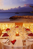 table setting stock photography | Antigua, Dickenson Bay, Coconut Grove Restaurant, image id 4-605-20