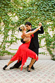 color stock photography | Argentina, Buenos Aires, Tango dancers, image id 8-801-5555