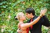 color stock photography | Argentina, Buenos Aires, Tango dancers, image id 8-801-5583