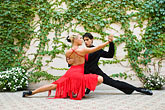 color stock photography | Argentina, Buenos Aires, Tango dancers, image id 8-801-5605