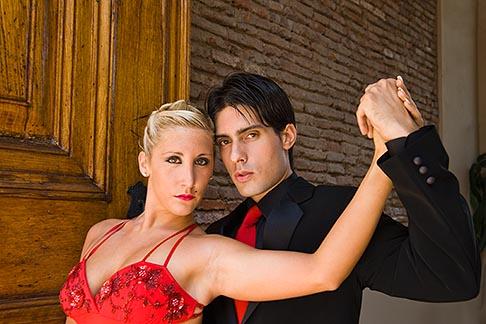 image 8-801-5638 Argentina, Buenos Aires, Tango dancers