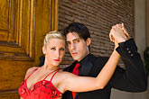 colour stock photography | Argentina, Buenos Aires, Tango dancers, image id 8-801-5638