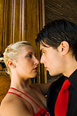 concentration stock photography | Argentina, Buenos Aires, Tango dancers, image id 8-801-5667