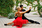 colour stock photography | Argentina, Buenos Aires, Tango dancers, image id 8-801-5684