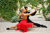 colour stock photography | Argentina, Buenos Aires, Tango dancers, image id 8-801-5686