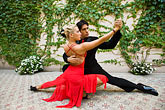colour stock photography | Argentina, Buenos Aires, Tango dancers, image id 8-801-5699