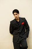 suit stock photography | Argentina, Buenos Aires, Tango dancer, solo portrait, young man, image id 8-801-5868