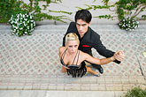colour stock photography | Argentina, Buenos Aires, Tango dancers, image id 8-801-5981