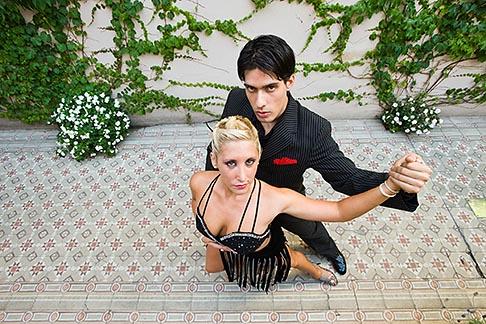image 8-801-5984 Argentina, Buenos Aires, Tango dancers