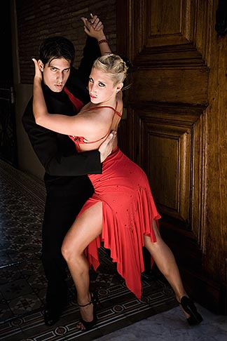 image S8-451-10662 Argentina, Buenos Aires, Tango dancers