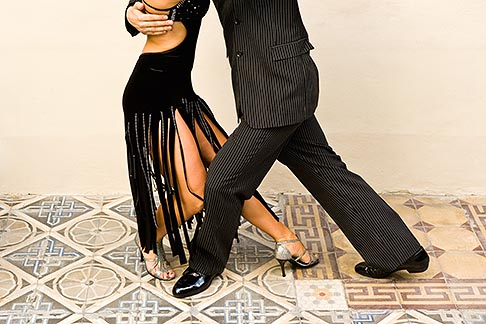 image S8-451-10917 Argentina, Buenos Aires, Tango dancers